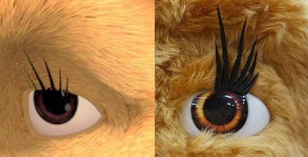 Augen-Produktion-Baeren