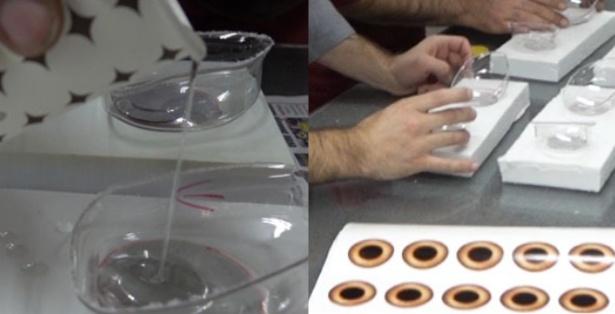 Augen-Produktion-kostuem-Maskottchen