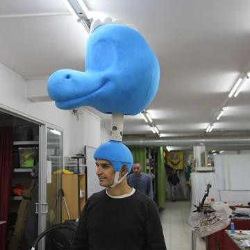Dinosaurier-Kostuem-Maskottchen-produktion-Firma