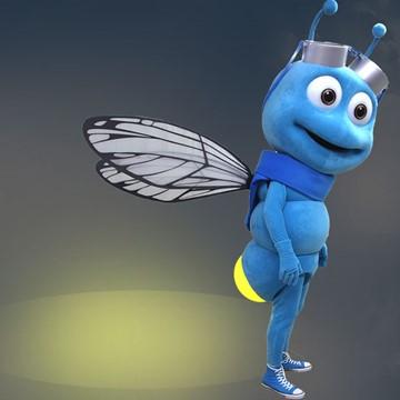 Fliege-Kostuem-Maskottchen-Produktion-Firma
