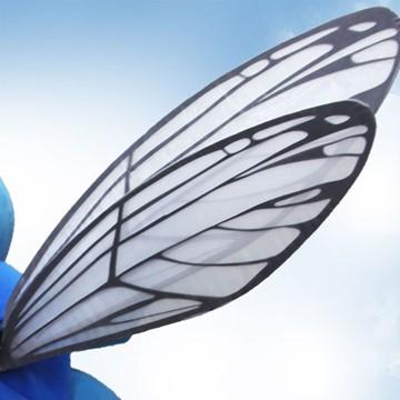 Fliege-Kostuem-Maskottchen-Produktion-Fluegel
