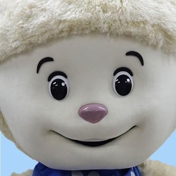Schaf-Kostuem-Maskottchen-Lauffigur