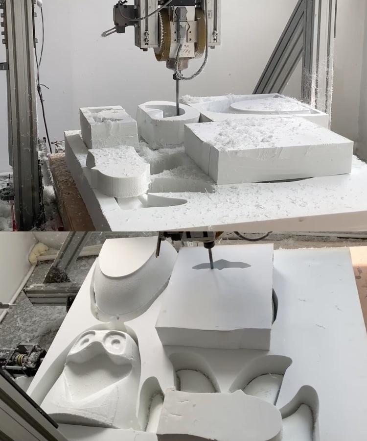 Erstellen-Produktion-Maskottchen-Kostuem